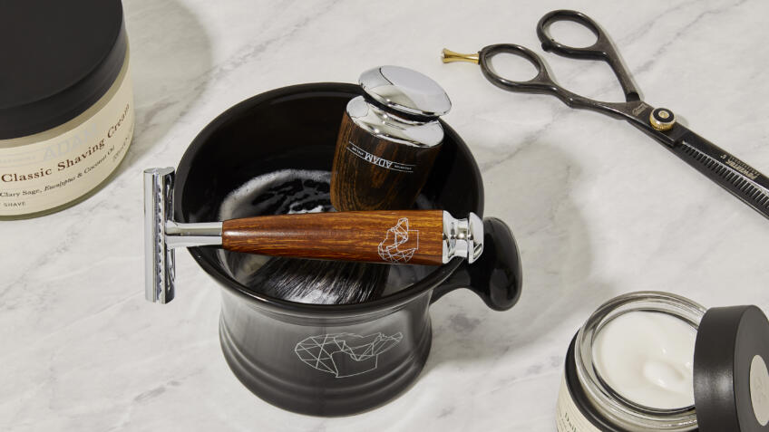 Five reasons to use shaving cream and a brush